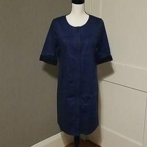 Chambray Mini Dress